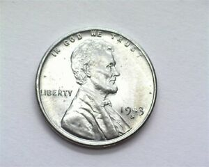 1943-S STEEL WHEAT CENT GEM++ UNCIRCULATED