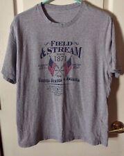 Field & Stream Since 1871 USA/Flags Gray S/S Tee - M