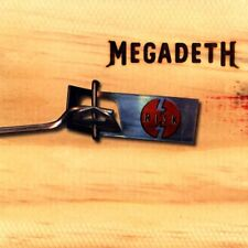 Megadeth CD Risk COMPLETE Capitol 7243 4 99134 0 0 Dave Mustaine Metal