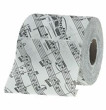 Music Gift Birthday Christmas TOILET ROLL PAPER Notes TEACHER PRESENT GIFT CLEF