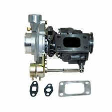 CXRacing T3 T4 Turbo Charger Turbocharger 350+HP Wastegate 8psi V-Band Universal