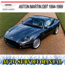 FROM VIN 101019 97-99 PARTS MANUAL REPRINTED COMB BOUND ASTON MARTIN DB7