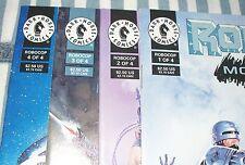 Dark Horse Comics ROBOCOP MORTAL COILS #1-4 Complete Set from 1993 in nice con.