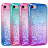 For iPhone Se 2020/iPhone 7/iPhone 8 Dynamic Liquid Glitter Quicksand Phone Case