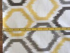 Robert Allen DwellStudio HEXAGONAL Pillow/Drapery Weight DESIGNER Fabric 3 Yards
