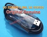 LG Original Genuine Micro USB Data Charging Cable for G4 G3 G2 1.8M 20AWG 3A AU