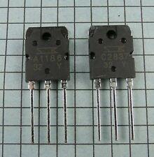 2SA1186 / A1186 & 2SC2837 / C2837 Power Transistor : 1 pair ( 1 each )