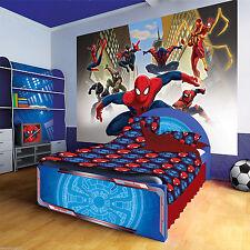 Tapete Fototapete Foto Tapeten Marvel Spiderman Kinder Spider  13N1274P4