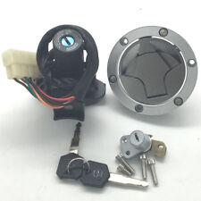 For Kawasaki EX250 Ninja 250R 08-12 Ignition Switch Fuel Gas Cap Seat Lock Key