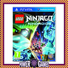 Lego Ninjago Nindroids PS Vita (Sony PSVita) Brand New FREE REGISTERED POST