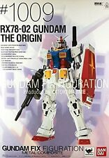 BANDAI GUNDAM FIX FIGURATION GUNDAM RX 78-2 ORIGIN # 1009 RX-78 20 CM