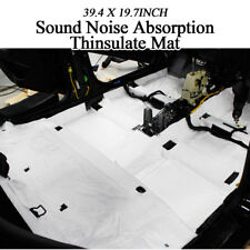 "39x20"" Noise Audio Protection Sound Absorption Thinsulate Mat 5p for All Vehicle"