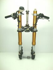 06 07 YAMAHA YZFR6 YZF R6 R6R FRONT FORKS SHOCK SUSPENSION STRAIGHT 2007