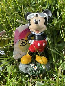 "Disney Mickey Mouse Garden Statue Mini Figurine NWT 2.5"""