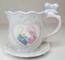 1994 Precious Moments Mini Teacup Figurine - Friendship Hits the Spot