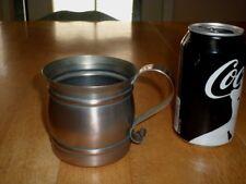 GREGORIAN COPPER CUP, HANDMADE & SIGNED, COPPER METAL, DRINKING CUP, VINT