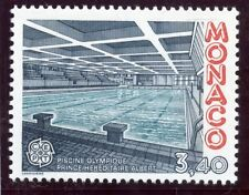 TIMBRE DE MONACO N° 1566 ** EUROPA / ARCHITECTURE MODERNE / PISCINE OLYMPIQUE