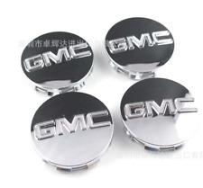 """4x Chrome Center Wheel Center Hub Cap for GMC 07- 13 Sierra Denali Yukon 3.25"""""""