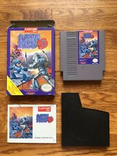 Mega Man 3 Nintendo Entertainment System NES COMPLETE Game+Box+Manual cib