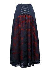 Dark Star Skirt Black And Red Medium. Size 14-16