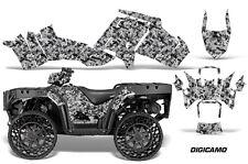 Polaris Sportsman WV850 ATV Graphic Kit Wrap Quad Accessories WV Decals DCAMO BK
