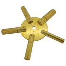 Clé étoile 5 en 1 pour pendule et horloge N°3 à 11 - Star Clock Key N°3 to 11-