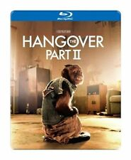 THE HANGOVER 2 PART II NEW BLU RAY STEELCASE SET MOVIE RARE COLLECTIBLE ED HELMS