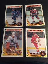 1987 Topps NHL All-Star Stickers