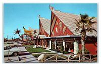 Postcard Signal House Shops Polynesian Tiki Gardens, St Petersburg FL H54