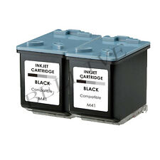 2 CARTUCCE  RIGENERATO STAMPANTE PER SAMSUNG INK-M41 SF 375 / SF 370 / SF 375TP