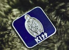 Kiss - Vintage Blue enamel pin badge