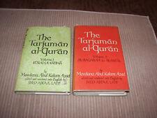 Tarjuman al-Qur'an Mawlana Abul Kalam Azad 2 volumes interpretation Urdu Islam