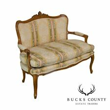French Louis Xv Style Settee by Century