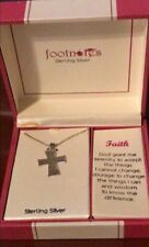 Footnotes Sterling Silver Faith Necklace One Size In Box