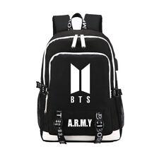 KPOP BTS Bangtan Boys Backpack Bookbag Jimin RM Suga V J-hope Jin Shoulder Bag