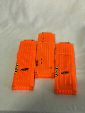 Nerf N-Strike Big 18 Max Round Dart Gun Ammo Clip Long Magazines Large Lot of 3