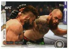 2015 Topps UFC Chronicles #98 Travis Browne