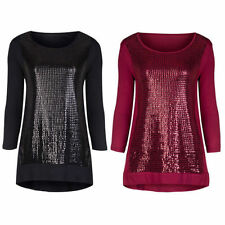 Unbranded Sequin Casual Tops & Blouses for Women