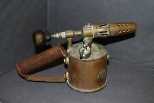 Brass Blow Torch Anglo Swedish Paraffin Petrol Vintage Antique