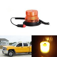 10 LED Car Emergency Hazard Warning Top Roof Mini Strobe Light Bar Amber/Yellow