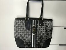 Neue Tommy Hilfinger Damentasche Muster TH Canvas TOTE