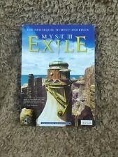 Myst 3: Exile PC CD-ROM Windows & MAC 2001 Box CIB