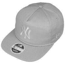 New Era 9 fifty Non Structurées NY New York Casquette De Baseball Gris Clair-Small/Medium
