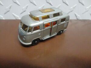 Matchbox Lesney #34 Silver Volkswagen Camper