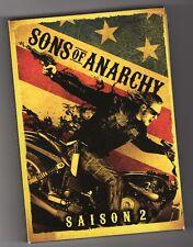 SONS OF ANARCHY  ¤¤  SAISON 2 COMPLETE  ¤¤  4 DVD  ¤¤  LIVRAISON AVEC SUIVI  ¤¤