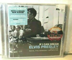 If I Can Dream by Elvis Presley/Royal Philharmonic Orchestra (CD, Oct-2015, RCA
