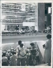1959 Artificial Waterfall Department Store Tokyo Japan Press Photo