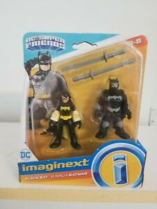 Imaginext DC Super Friends Black Bat  Ninja Batman Free shipping!