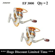 Qty=2 Spinning Reels Fishing Reels EF3000 12 Bearings Fast Delivery Aus Stock !!