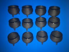 Lot 12 Small Halloween Cauldrons For Harry Potter Party Favors Decorations Loot